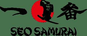 consultant seo samurai logo couleur